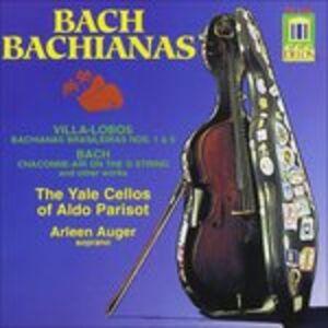 CD Overture Bwv 1068, Partita per Violino Bwv 1004, Suite per Violoncello Bwv 1012 di Johann Sebastian Bach