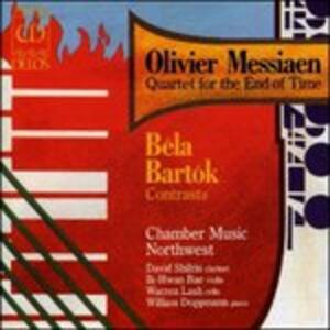 Quartet for the End of Time - CD Audio di Olivier Messiaen