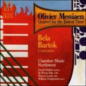 CD Quartet for the End of Time di Olivier Messiaen