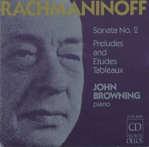 CD Sonata per Pianoforte n.2 Op.36, Preludi Op.23 di Sergei Vasilevich Rachmaninov