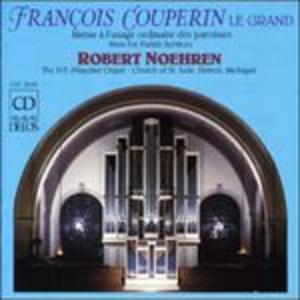 CD Messe à l'usage ordinaire des paroisses di François Couperin