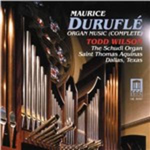 CD Musica per organo di Maurice Duruflé