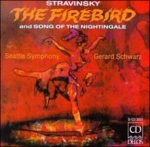 L'uccello di fuoco (L'oiseau de feu) - Le chant du rossignol - CD Audio di Igor Stravinsky