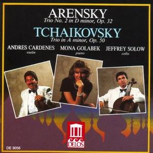 CD Trio per Pianoforte n.1 Op.32 di Anton Stepanovich Arensky