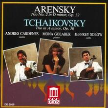 Trio per Pianoforte n.1 Op.32 - CD Audio di Anton Stepanovich Arensky