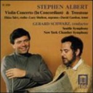 In Concordiam, Treestone - CD Audio di Gerard Schwarz,Stephen Albert
