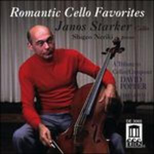 CD Romantic Cello Favorites. Musica per Violoncello di David Popper