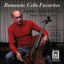Romantic Cello Favorites. Musica per Violoncello (Digipack) - CD Audio di Janos Starker,David Popper