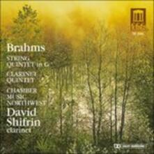 Quintetto per Archi n.2 Op.111, Quintetto per Clarinetto Op.115 - CD Audio di Johannes Brahms,David Shifrin
