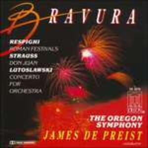 Feste Romane P157 - CD Audio di Ottorino Respighi,James DePreist