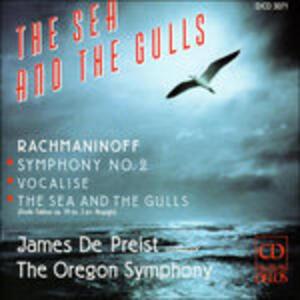 Sinfonia n.2 Op.27, Vocalise Op.34 - CD Audio di Sergej Vasilevich Rachmaninov