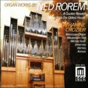 CD A Quaker Reader - Views from the Odest House di Ned Rorem