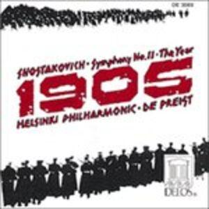CD Sinfonia n.11 di Dmitri Shostakovich