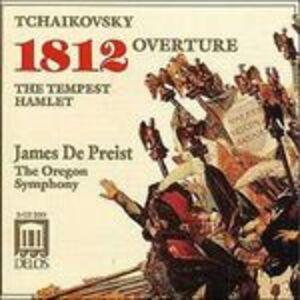 CD Ouverture 1812 - La tempesta di Pyotr Il'yich Tchaikovsky
