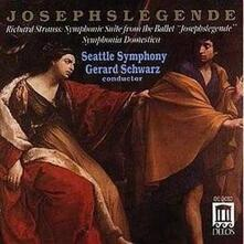 Joseph Legende Op 63 - CD Audio di Richard Strauss,Gerard Schwarz,Seattle Symphony Orchestra