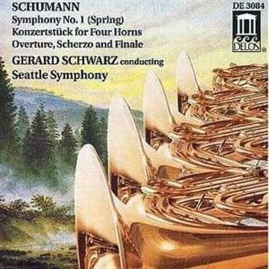 Sinfonia n.1 Op 38 Primavera in si - CD Audio di Robert Schumann,Gerard Schwarz,Seattle Symphony Orchestra