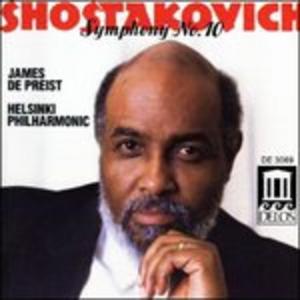 CD Sinfonia n.10 di Dmitri Shostakovich