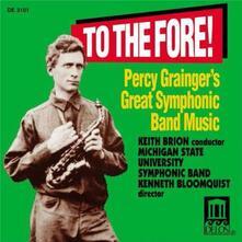 Musica per Banda - CD Audio di Percy Grainger,Keith Brion