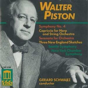 Sinfonia n.4 - CD Audio di Gerard Schwarz,Seattle Symphony Orchestra,Walter Piston