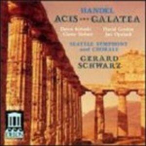 CD Acis e Galatea di Georg Friedrich Händel