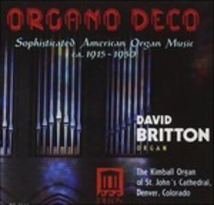 Foto Cover di Musica per organo, CD di Leo Sowerby, prodotto da Delos