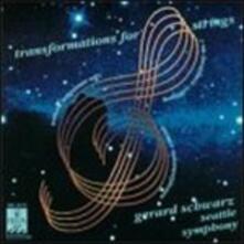 Transformations for Strings - Metamorphosen - CD Audio di Richard Strauss,Gerard Schwarz