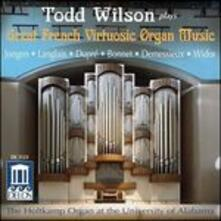Great French Virtuosic Organ Music - CD Audio
