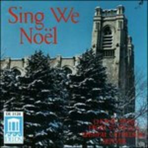 Foto Cover di Sing We Noël - Musica Corale Dalla St. John's Episcopal Cathedral di Denver, CD di  prodotto da Delos
