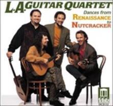 Lo schiaccianoci (trascrizione per 4 chitarre) - CD Audio di Pyotr Ilyich Tchaikovsky
