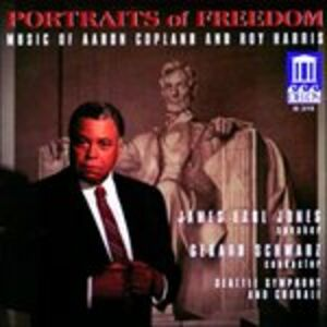 CD Portraits of Freedom. Fanfare for the Common Man, Lincoln Portrait di Aaron Copland