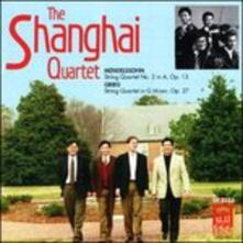 Quartetto per Archi n.2 Op.13 - CD Audio di Felix Mendelssohn-Bartholdy
