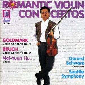 CD Romantic Violin Concertos. Concerto per Violino n.1 Op.28 di Karl Goldmark
