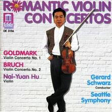 Romantic Violin Concertos. Concerto per Violino n.1 Op.28 - CD Audio di Karl Goldmark