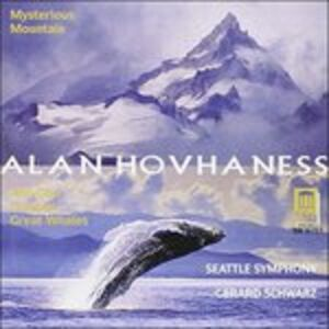 Foto Cover di Sinfonia n.2 'mysterious Mountain', Prayer of St. Gregory Op.62b, CD di Alan Hovhaness,Gerard Schwarz, prodotto da Delos