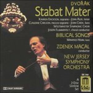 CD Stabat Mater;Biblical Son di Antonin Dvorak