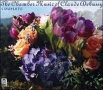 Foto Cover di Musica da Camera, CD di Claude Debussy, prodotto da Delos