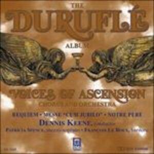 Foto Cover di Requiem op.9, CD di Maurice Duruflé, prodotto da Delos