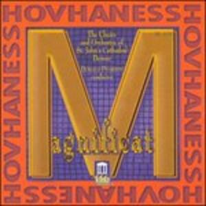 Magnificat Op.157, Sinfonia n.12 Op.188, 4 Mottetti Op.246 - CD Audio di Alan Hovhaness