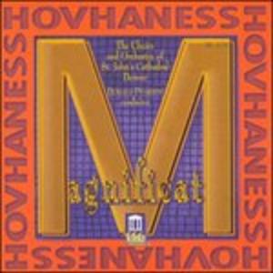 CD Magnificat Op.157, Sinfonia n.12 Op.188, 4 Mottetti Op.246 di Alan Hovhaness