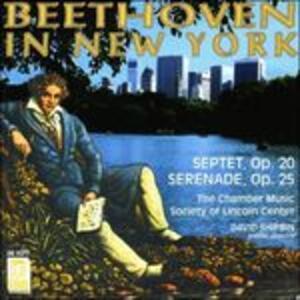 Settimino op.20 - Serenata op.25 - CD Audio di Ludwig van Beethoven