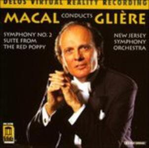 Sinfonia n.2 Op.25 - Suite da Balletto Op.70 - CD Audio di Reinhold Moricevic Glière,Zdenek Macal