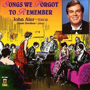 Foto Cover di Songs We Forgot to Remember, CD di John Aler, prodotto da Delos