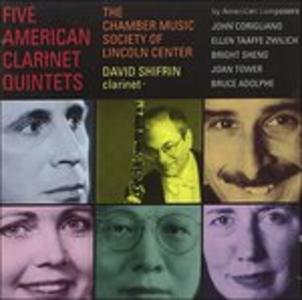 CD Five American Clarinet Quintets
