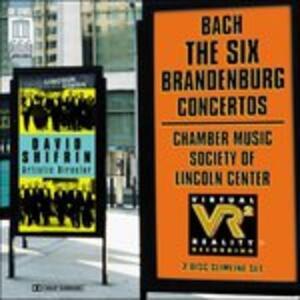Six Brandenburg Concertos - CD Audio di Johann Sebastian Bach