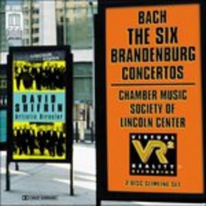CD Six Brandenburg Concertos di Johann Sebastian Bach