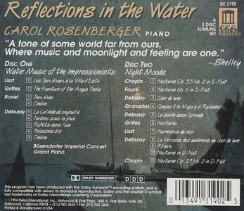 CD Reflections in the Water. Opere per Pianoforte  0