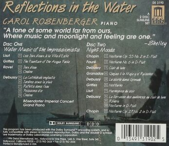 CD Reflections in the Water. Opere per Pianoforte  1