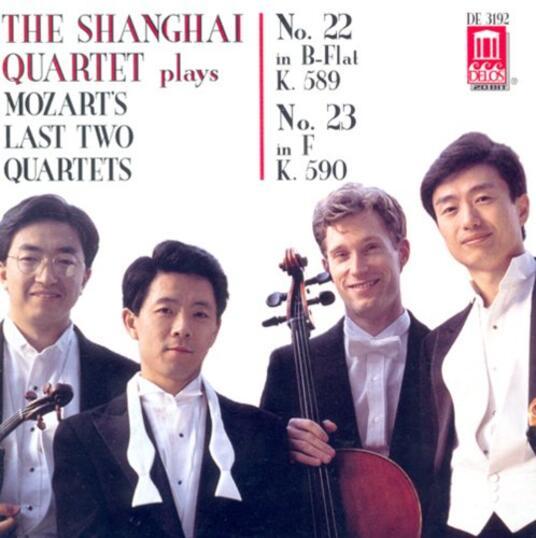 Last String Quartets, - CD Audio di Wolfgang Amadeus Mozart