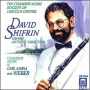 Foto Cover di Chamber Music, CD di Carl Maria Von Weber, prodotto da Delos