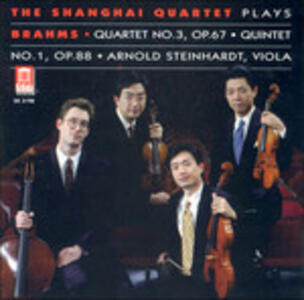 Quartet No.3 Op.67 - CD Audio di Johannes Brahms